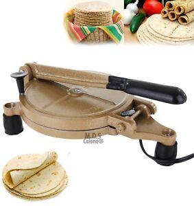 Electric Tortilla Press Baking Maker Heavy Duty Authentic Mexican Non Stick New