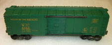 LIONEL POSTWAR 6464-75 EARLY ROCK ISLAND BOX CAR with BUILT DATE VERY GOOD+