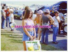 POKIE PINUP PHOTO NHRA DRAG RACING BACK UP/PIT GIRLS JUNGLE JIM