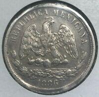 1886 Mo M Mexico 50 Centavos - Nice Silver