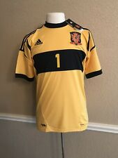 Spain Real Madrid I.casillas Fc Porto Shirt Football España Adidas Jersey