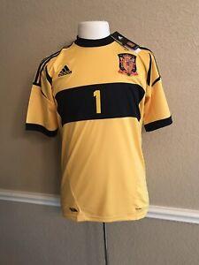 Spain Real Madrid I.casillas Fc Porto Shirt Football España Adidas Jersey