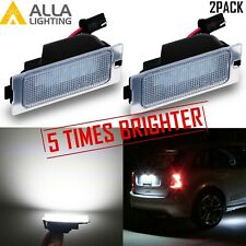 2X Xenon White LED License Plate Tag Lamp Assembly  Replacement for Escape SUVs