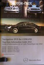 MERCEDES CLASS NAVIGATION ROAD MAP DISC CD DVD