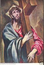 Postal de El Greco. Christ Abrazado a la cruz. Mira mas EN MI TIENDA tp11574