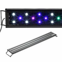 AQUANEAT LED Aquarium Light Multi-Color Full Spec Marine FOWLR 12 20 24 30 36 48