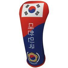 KOREAN FLAG HYBRID Golf Club Head Cover Cover Easy ON & Off USA MADE