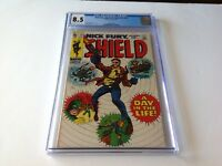 NICK FURY AGENT OF SHIELD 14 CGC 8.5 A DAY IN THE LIFE MARVEL COMICS