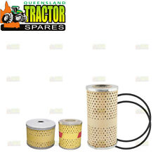 Massey Ferguson FE35 (4 Cylinder Diesel) Fuel and Engine Oil Filter Kit