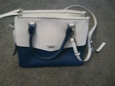 FIORELLI NAVY & WHITE HANDBAG - USED ONCE, VERY GOOD CONDITION