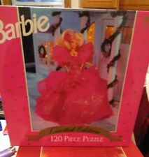 Barbie Doll Puzzle Limited Edition 120 Piece 5660A Rare Collectible 1988 Dolls