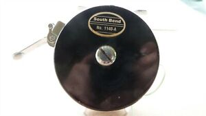 SOUTH BEND BAIT CO OREN-O-MATIC NO. 1140 MODEL-A BLACK FLY REEL FREE STRIPPING