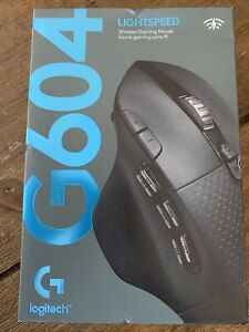 NEW LOGITECH G604 LIGHTSPEED WIRELESS GAMING MOUSE COLOR: BLACK 910-005622 FAST!