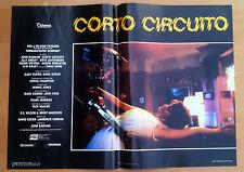 CORTO CIRCUITO fotobusta poster Short Circuit Sheedy Fisher Stevens Badham BT41