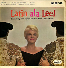 "Peggy Lee With Jack Marshall's Music Latin Ala Lee UK 45 7"" EP +Picture Sleeve"
