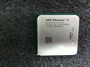AMD Phenom II X4 945 3.0GHz Quad-Core CPU HDX945WFK4DGM Socket AM2+/AM3 - CPU878