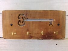 Hand Made Rustic Key Rack from Reclaimed Materials