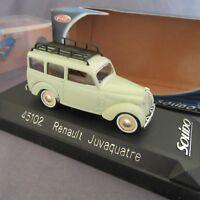 744E Solido Sixties 45102 Renault Juvaquatre 1:43