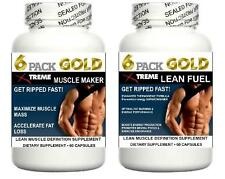 Lean Muscle Pills Growth Builder Abs Cortisol Fat Loss Training Lean Energy Aid