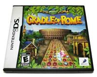 Cradle of Rome Nintendo DS 2DS 3DS Game *Complete*