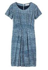 Rayon Short Sleeve Casual Dresses Midi