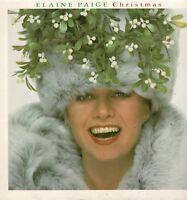 "ELAINE PAIGE Christmas 12"" Vinyl LP Album WEA W88 DA"