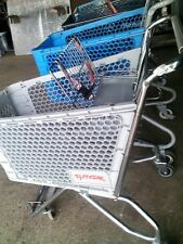 Shopping Carts Small Plastic Basket Used Dollar Store Fixtures Liquidation Cart