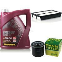 Motor-Öl 5L MANNOL 5W-30 Combi LL+MANN-FILTER Filterpaket Mazda 3 BM 2.0