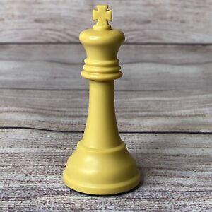 "Vtg Drueke Players Choice White Replacement  3-3/4"" King"