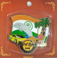 Hard Rock Cafe Miami 2015 City Tee Shirt Graphic Alternative Magnet New on Card!