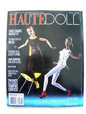 Haute Doll Magazine April 2009 Milou Chanel FDA's Petra Wu Paper Dolls Patterns