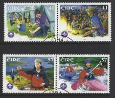 IRELAND 2002 IRISH SCOUTS SET OF 4 FINE USED