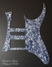 #2 Ibanez guitar custom Jazz feel Pickguard RG GIO GRG GRX JEM (Blue Black Pearl