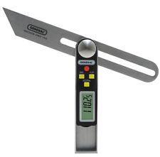 Digital Sliding T-Bevel/Protractor 0°-360° Range Gauge General Tools 828
