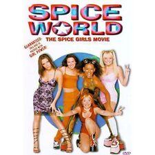 Spice World (DVD, 1998, Closed Caption) RARE OOP