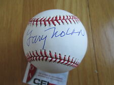 "GARY NOLAN ""Big Red Machine"" Signed MLB Baseball -CEI Sports Authenticated"