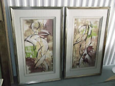 3 TRAYMORE's POSE I , II , III Original Artist T KADE Print Signed and Framed