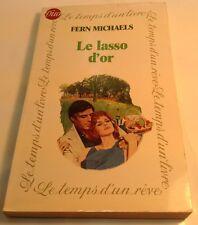 Book in French LE LASSO D'OR Livre en Francais DUO Fern Michaels