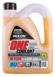 Nulon Coolant One Coolant Concentrate 2.5L fits Jaguar XK 8 4.0 (209kw), 4.0 ...