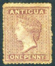 ANTIGUA-1863-67 1d Rosy-Mauve Sg 5  unused no gum V17642