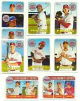 2018 Topps Heritage  PHILADELPHIA PHILLIES Team Set Rhys Hoskins RC