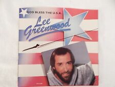 "LEE GREENWOOD ""God Bless the U.S.A."" PICTURE SLEEVE! NEW! ONLY NEW COPY ON eBAY!"