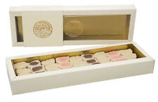 TURKISH DELIGHT ALMOND PASTE ASSORTED from HACIBEKIR, Oldest Company 350 g
