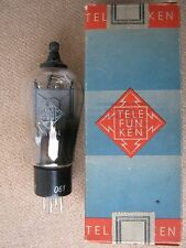 RGN1404  TELEFUNKEN  rectifier tube  -  NOS   -  MILITARY   -  RGN 1404