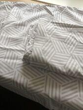 """BNWT Pillowcase Pair Grey & White 30"""" X 20"""" Soft Touch"""