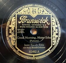 "Jane turzy TRIO-Good Morning... - be Doggone.../10"" 78 RPM"