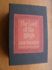 J.R.R. Tolkien Lord of the Rings 1965 Box set with maps