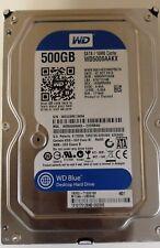 """Western Digital 500GB SATA Hard Drive WD500AAKX 3.5"""" 64MB"""