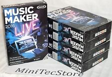 MAGIX Music Maker 2016 Live Windows - Music Production Software (New, Boxed)