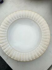 Bombay Dinnerware Ivory Color with Ribbed Rim Soup Bowl BMA 13